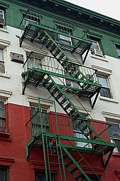Apartment Building Fire Escape Ladder security products - apartment & dormitory burglary prevention