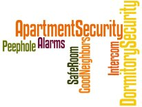 Security Products Apartment Dormitory Burglary Prevention